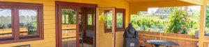 Huisje bij het Bamboelabyrint